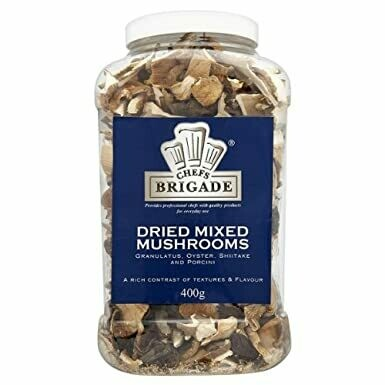 DRIED FOREST MIXED MUSHROOM - 400gr