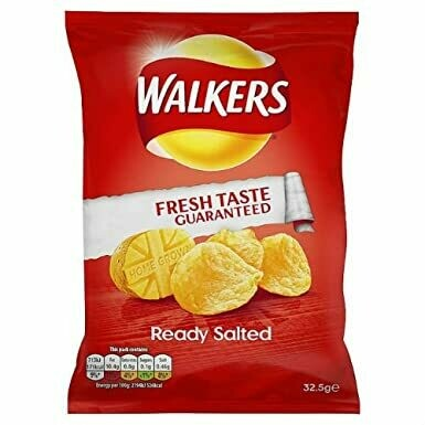 32x34.5g WALKERS READY SALTED CRISPS