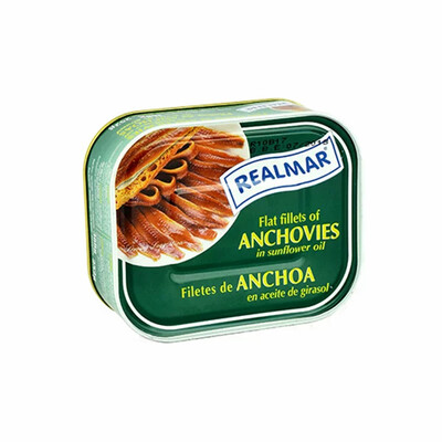 ANCHOVIES FILLETS IN SUNFLOWER OIL - 360g