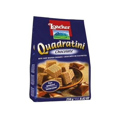 LOACKER QUADRATINI CREMKACAO CHOCOLATE WAFERS - 250gr