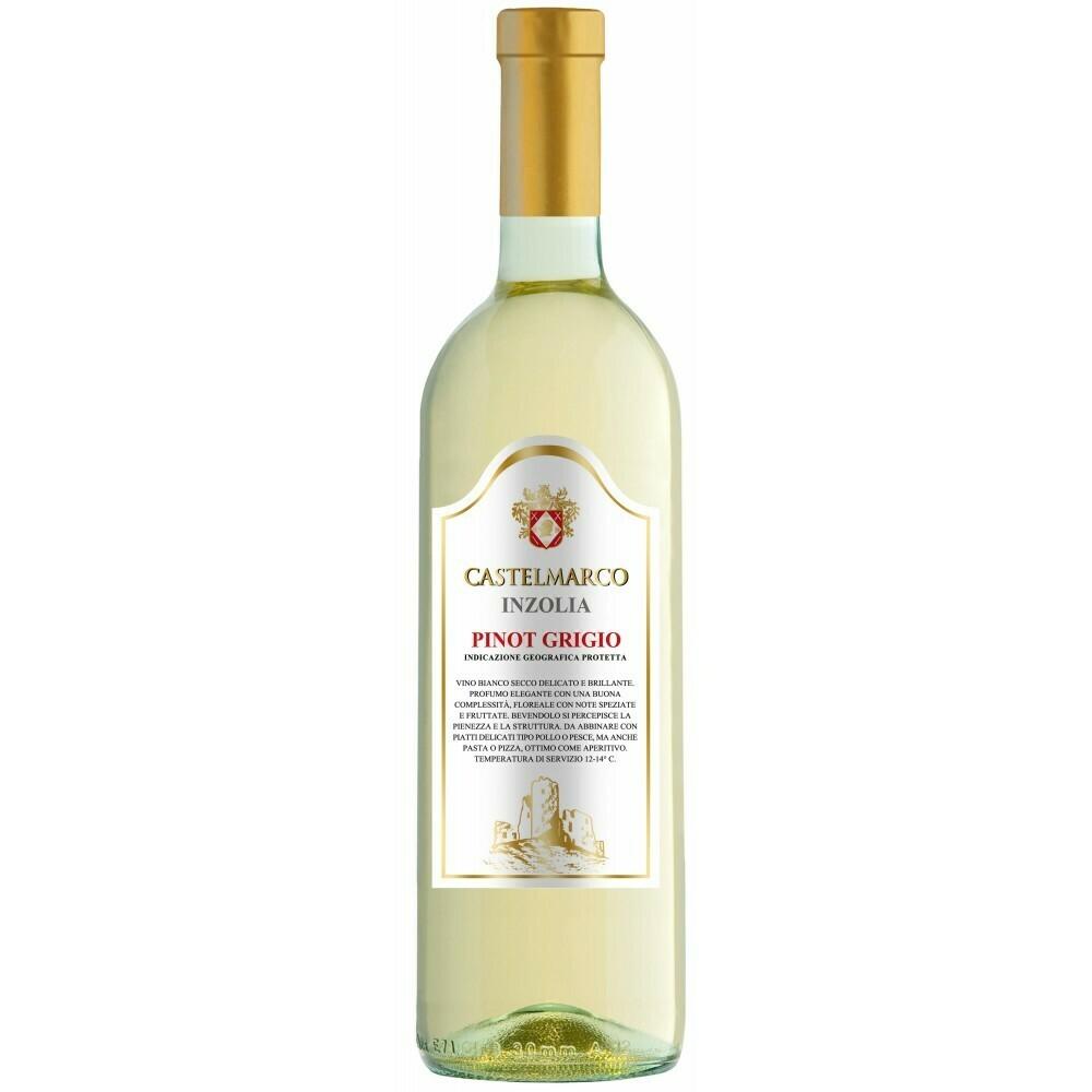 PINOT GRIGIO WHITE WINE INZOLIA - Castelmarco 0,75L