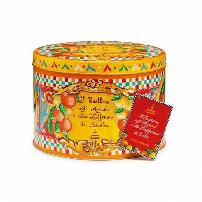 PANETTONE AGRUMI & ZAFFERANO + GIFT BAG - Dolce & Gabbana 1kg