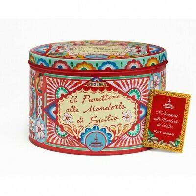 PANETTONE ALLE MANDORLE DI SICILIA + GIFT BAG - Dolce & Gabbana - 1kg