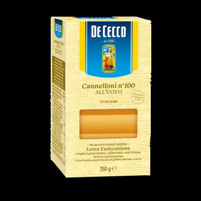 DE CECCO EGG CANNELLONI - 250gr