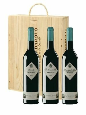 TRIS DI CRUS 3 BOTTLE GIFT SET - Marchesi di Barolo