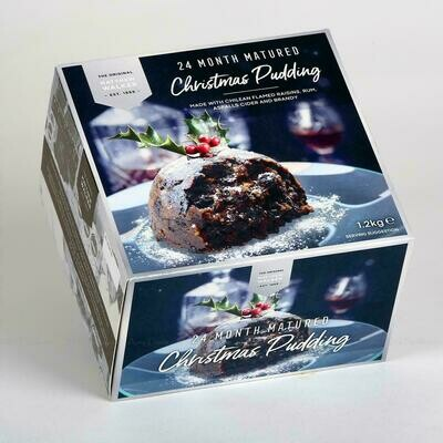 CHRISTMAS PUDDING 24 MONTH MATURED - 1.2kg