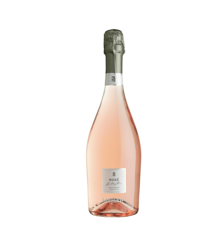 LA ROSE' SPUMANTE EXTRA DRY, SPARKLING ROSE WINE - Lamberti 0,75L