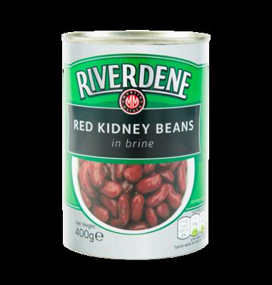 RED KIDNEY BEANS - Riverdene 12x418g