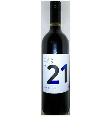 MERLOT RED WINE -Ventuno 21  0.75L