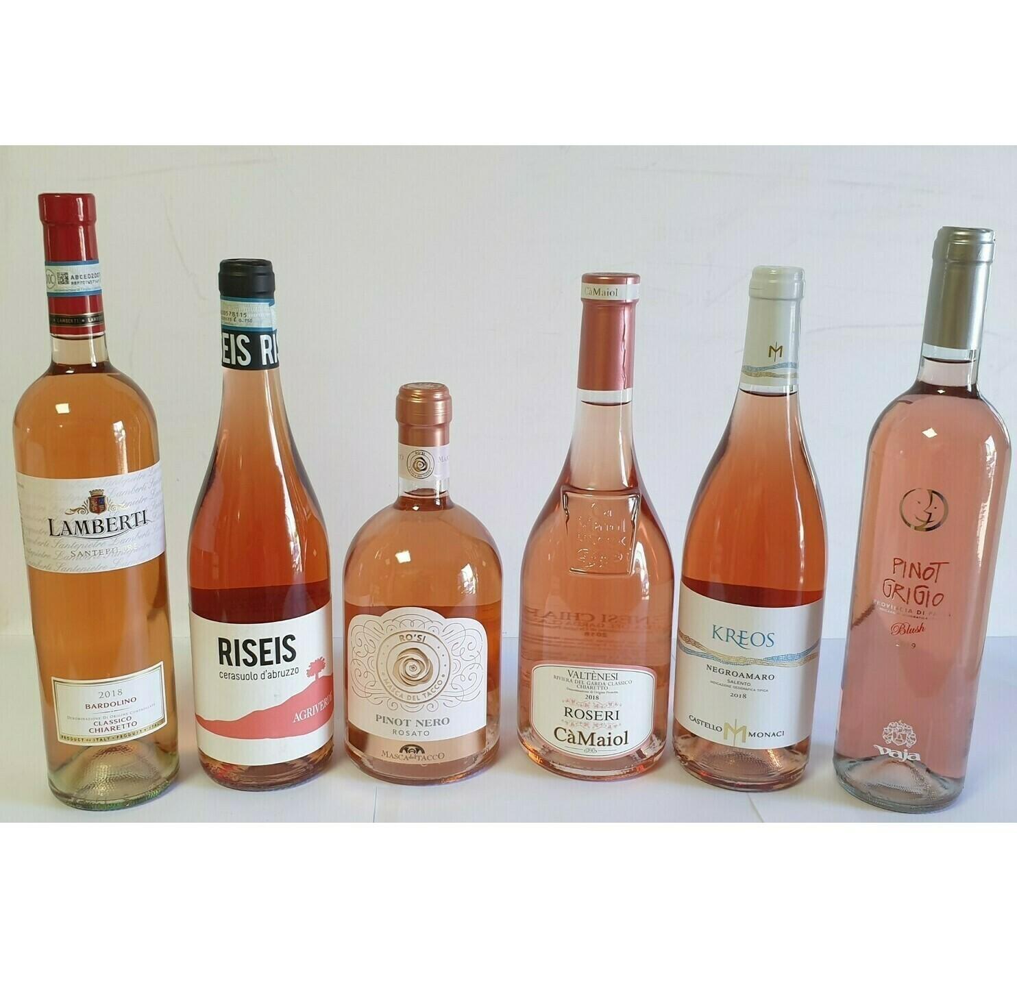 BLUSHING PINKS 6 bottles