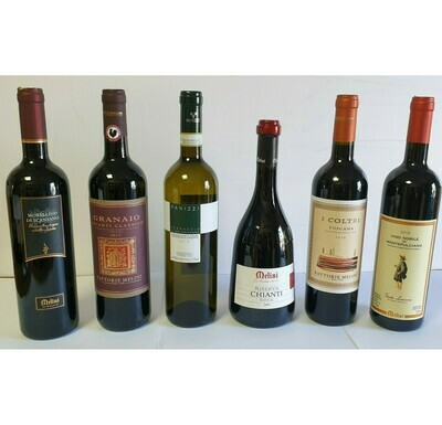 TUSCAN TREASURES 6 bottles