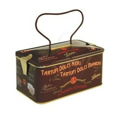 ASSORTED CHOCOLATE TRUFFLES IN TIN - 150gr