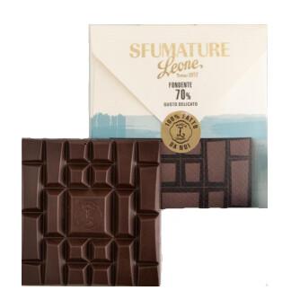 SFUMATURE ENVELOPE GIFT CHOCOLATE BAR 70% - 75gr