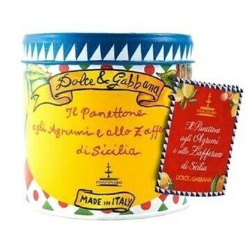 PANETTONCINI AGRUMI & ZAFFERANO + GIFT BAG - Dolce & Gabbana 100g
