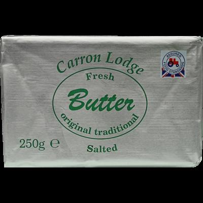 CARRON LODGE SALTED BUTTER - 250gr
