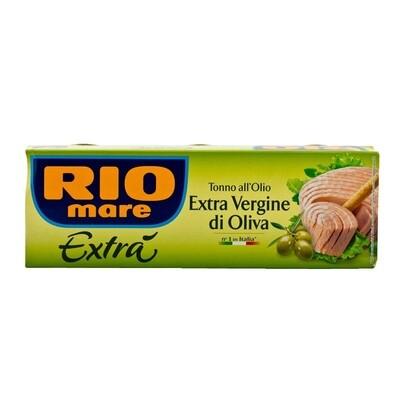 RIO MARE TUNA IN EXTRA VIRGIN OLIVE OIL - 3x80gr