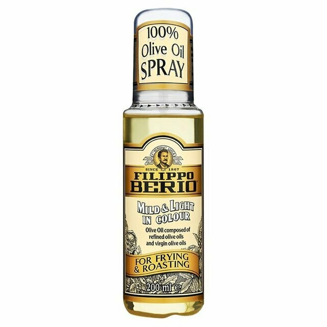 FILIPPO BERIO MILD & LIGHT 100% OLIVE OIL SPRAY - 200ml
