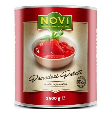 NOVI ITALIAN PEELED TOMATOES - 6x2.5kg