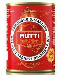MUTTI SAN MARZANO D.O.P PEELED TOMATOES - 6x400gr