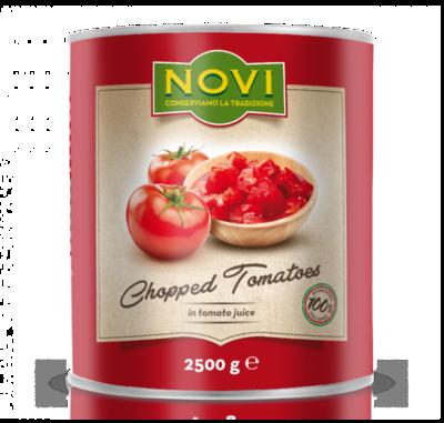 NOVI ITALIAN CHOPPED TOMATOES - 6x2.5kg