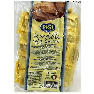RAVIOLI WITH MEAT (BEEF AND PORK) - 250gr