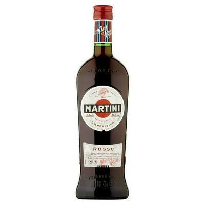 MARTINI ROSSO VERMOUTH ABV 15% - 0,75L