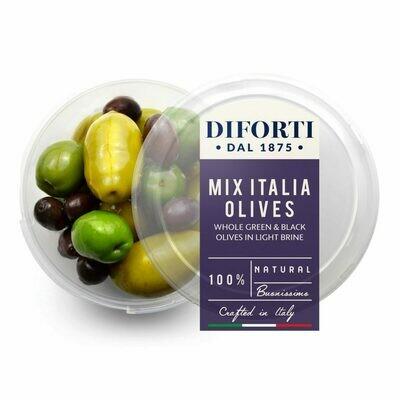 WHOLE MIXED ITALIA OLIVES - 180gr