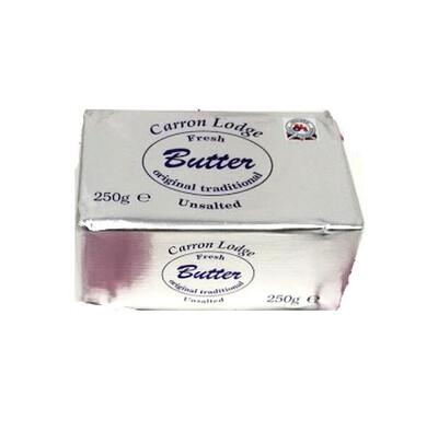 UNSALTED BUTTER - 40x250g