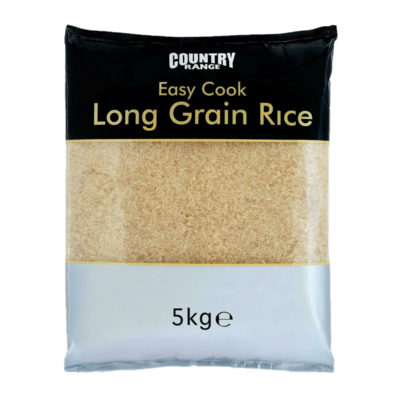 PRE COOKED LONG GRAIN RICE - 5kg