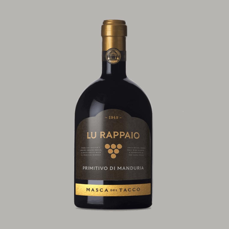 Primitivo di Manduria DOP Lu Rappaio - Masca del Tacco 0,75L 2019