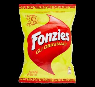 FONZIES ORIGINAL CRISPS - 9x23.5gr
