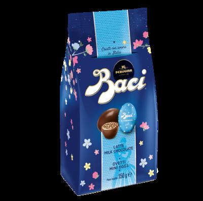 BACI OVETTI MILK CHOCOLATE MINI EGGS - 150gr  BEST BEFORE END 10/21