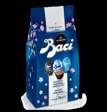 BACI OVETTI ASSORTED CHOCOLATE MINI EGGS - 150gr BEST BEFORE END 10/21
