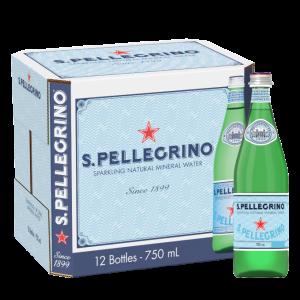SAN PELLEGRINO SPARKLING WATER GLASS - 12x750ml
