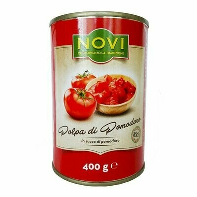 NOVI ITALIAN CHOPPED TOMATOES - 6x400gr Damaged tins