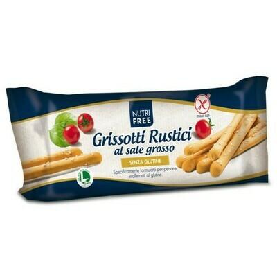 GRISSOTTI RUSTICI AL SALE GROSSO (Grissini with salt) - 100gr