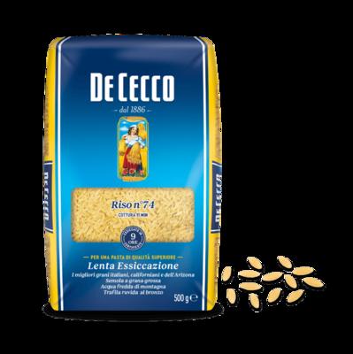 DE CECCO RISO No. 74 - 500gr