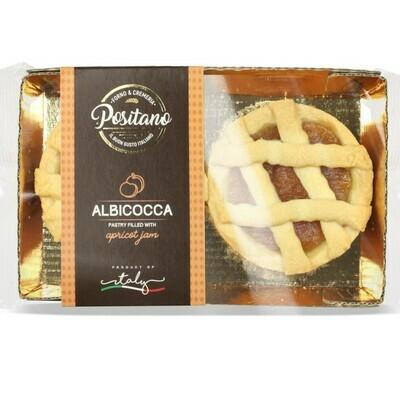 CROSTATINE ALL' ALBICOCCA (Apricot) - 160gr 2pcs