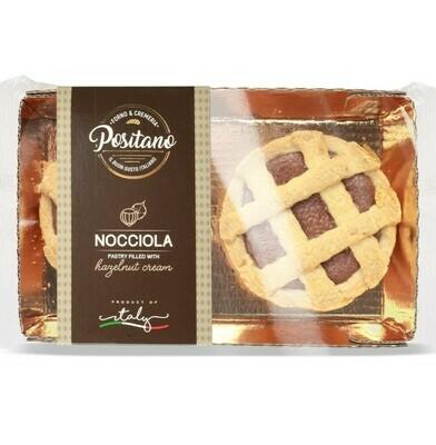 CROSTATINE ALLA NOCCIOLA (Hazelnut cream) - 160gr 2pcs