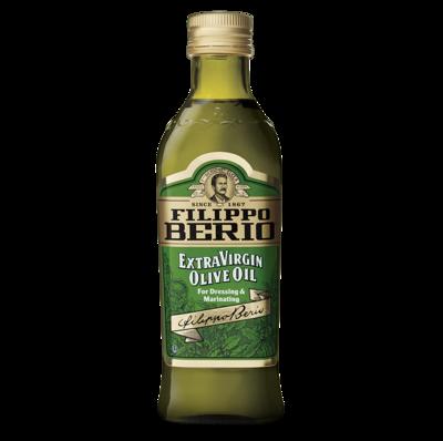 FILIPPO BERIO EXTRA VIRGIN OLIVE OIL BOTTLE - 1lt