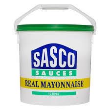 REAL MAYONNAISE - Sasco 10ltr