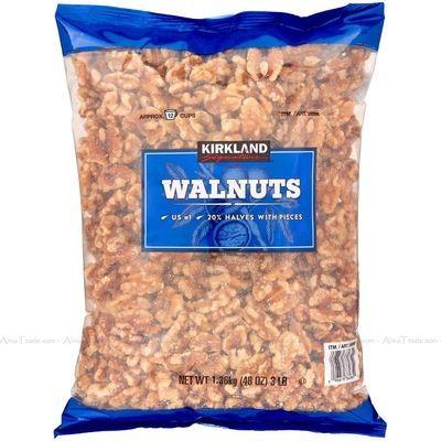 500G WALNUTS HALVES