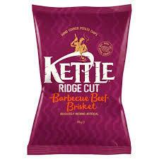 KETTLE RIDGE CUT BBQ BEEF - 18x40g