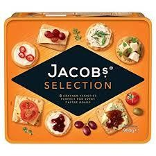 JACOBS BISCUITS FOR CHEESE - 1kg
