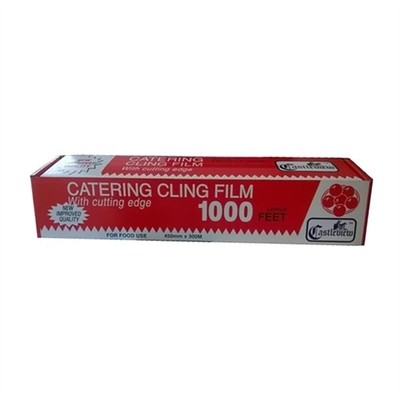"""18"""" CLING FILM CASTLEVIEW - 300mt"""