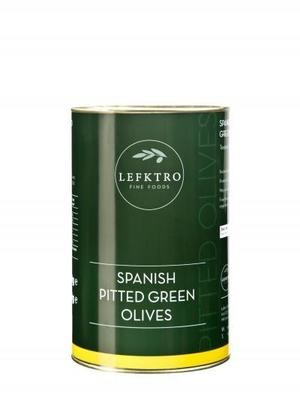 4.1kg PITTED GREEN OLIVES