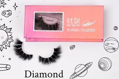 NYG Diamond 3D Mink Eye Lashes - New York Girl