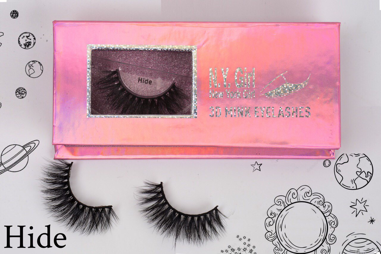 NYG Hide 3D Mink Eyelashes - New York Girl