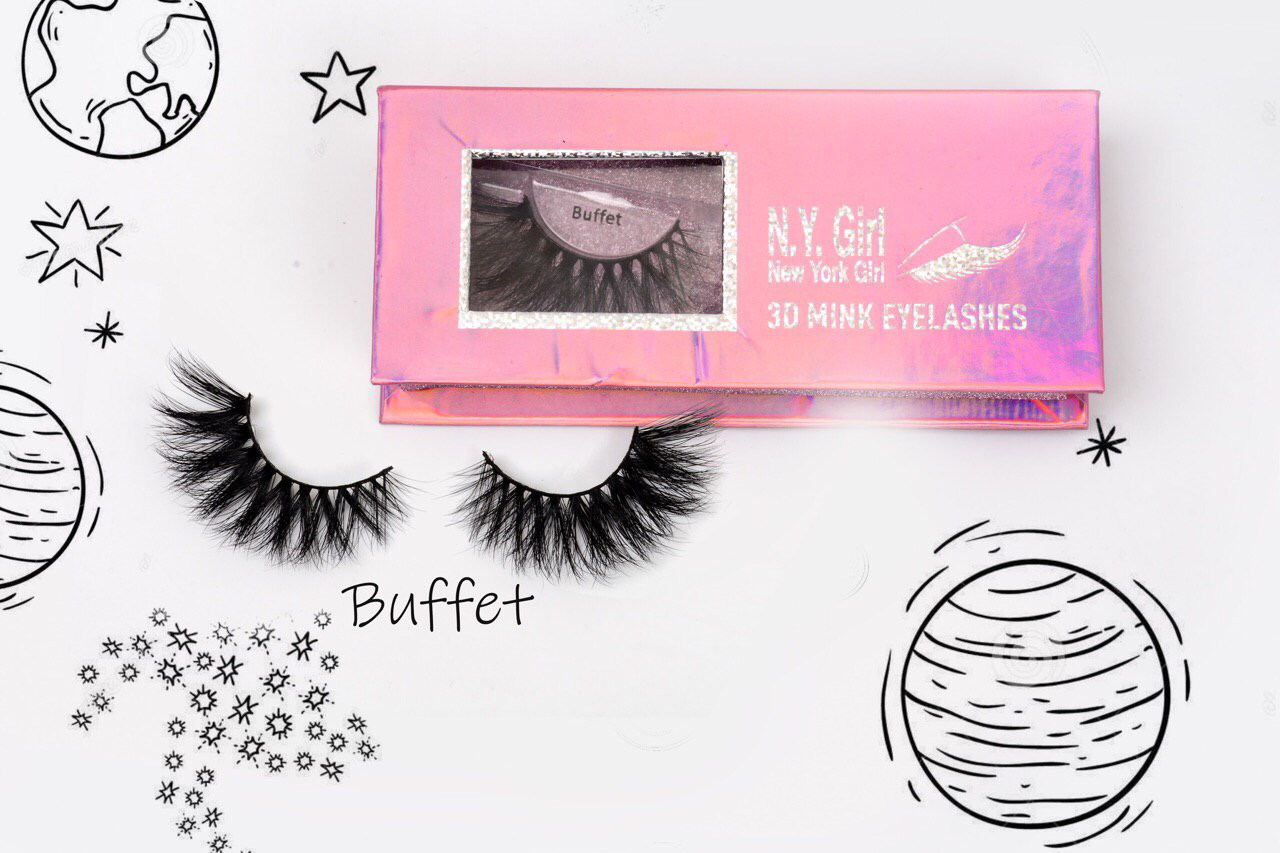 NYG Buffet 3D Mink Eyelashes - New York Girl