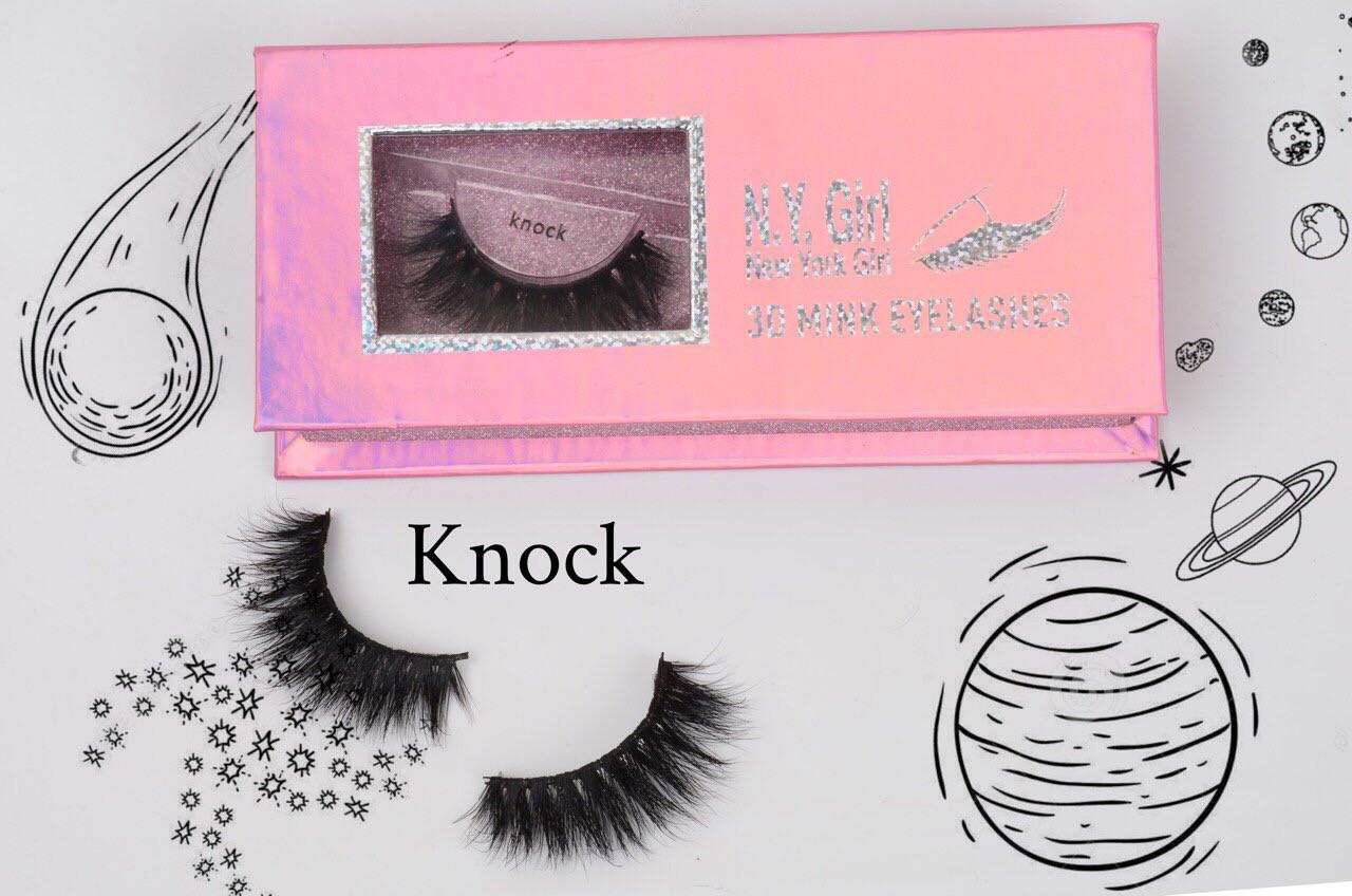 NYG Knock 3D Mink Eyelashes - New York Girl